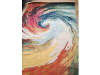 Celestial Nourison 'Wave' Rug *Brand New*