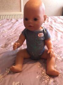 Baby born boy doll