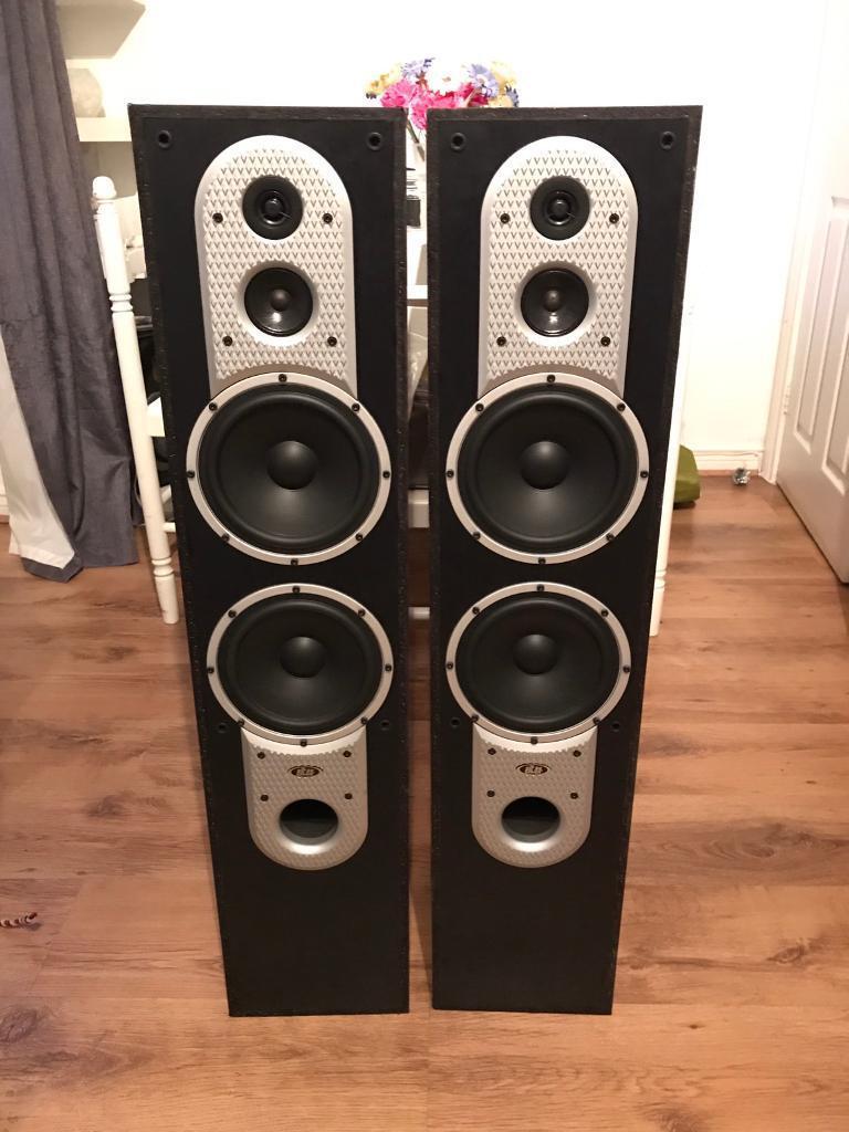 Eltax Silverstone 300 floorstanding speakers