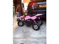 Pink Kids Assassin Quad Bike 49cc