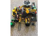 Lego mining set