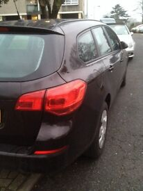Pco car for sale vauxhall astra estate