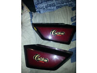 Honda cm 125 custom side panels
