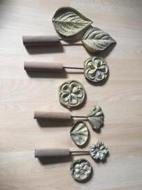 Set of 4 Copper moulds