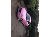 pink sports convertible daihatsu copen very low milage