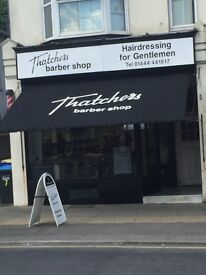 Barber required MALE / FEMAIL - Earn £150 a day at Thatchers Barbers Haywards Heath