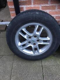 Vw t5 transporter/range rover alloy wheels