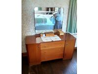 Two wardrobes and dressing table