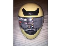 G-MAC motorcycle helmet - medium new/never worn.