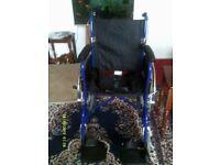 Angel mobility self propel wheel chair