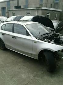 2004 BMW 1 series 1.6 petrol for breaking only all parts available