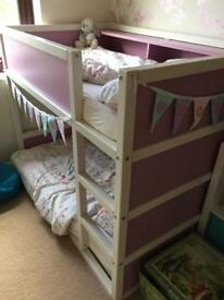 Toddler Sized - Bunk Bed - IKEA Hack