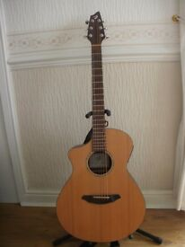 Left Handed Breedlove Electro/Acoustic Guitar.