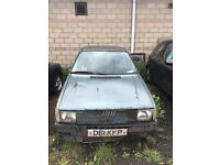 Fiat Uno Turbo Mk1 Complete been abandoned