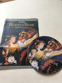 Disney Beauty and the Beast Platinum Edition DVD