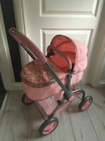 Baby Annabelle pram and doll