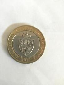 Anniversary of the golden guinea £2