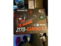 Motherboard gigabyte z170 gaming k3