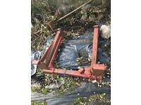 Roll bar fits Massey Ferguson 65