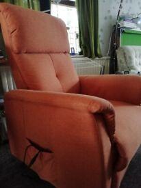 Rise & recline chair - nearly new - riser recliner
