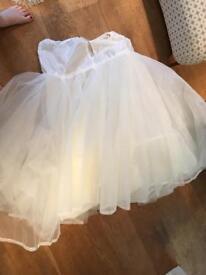 Size 16-20 underskirt hoop
