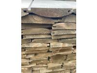 Wooden planks, Treated Loglap Cladding. LOG LAP, timber, 3.9m