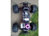 rc hpi savage nitro truck needs a new spur gear