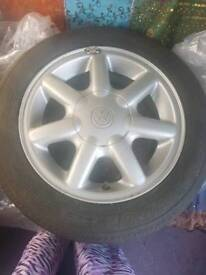 "VW golf 14"" alloy wheels"