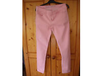 Supersoft skinny peachy/pink coloured jeans. Denim Co. Size 10. £3 ovno.