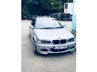 BMW 330ci. Low Mileage. 3.0l Automatic. Silver. Full MOT.