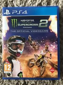 PS4 Supercross game