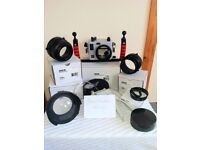 Ikelite Underwater Photography Equipment - Sony A6000 - CAMERA OPTIONAL AT ADDITIONAL COST!