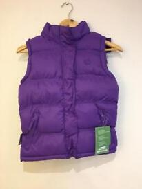 Childs padded gilet age 7 - 8