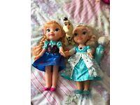 Singing Elsa, Anna and Olaf