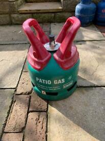 CALOR 5KG PATIO GAS BOTTLE - EMPTY - SAVE THE DEPOSIT