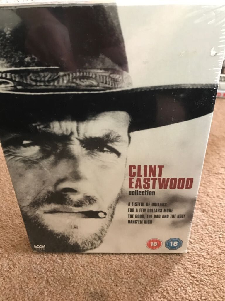 Clint Eastwood collection DVDin Chandlers Ford, HampshireGumtree - Clint Eastwood collection DVDIs in fantastic working orderHave a look at my other auctions