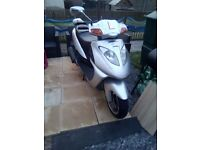 Reluctant sale - Direct bikes 125cc automatic scooter ***update new price must sell***