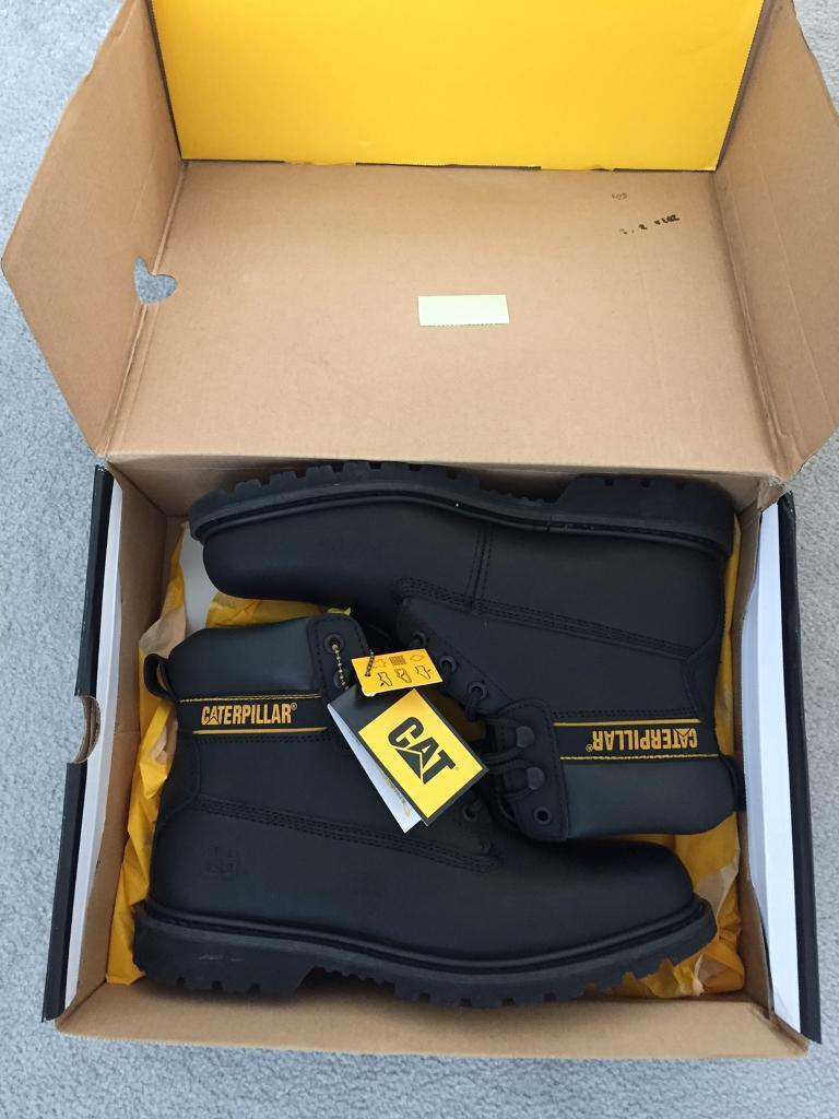 Caterpillar boots. Size 9in Penlan, SwanseaGumtree - Brand new caterpillar boots Black in colour. Size 9 Perfect for work or general wear