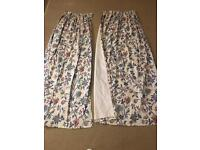 Laura Ashley excellent quality curtains