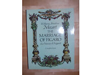 Mozart: The Marriage of Figaro, complete score