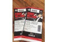 Robbie Williams tickets Murrayfield