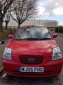 KIA Picanto 1.1 LX AUTOMATIC In Stunning Red. MOT Till 29.11.2018 FULL SERVICE HISTORY