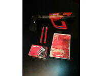 HILTI DX460 + MX 72 MAGAZINE CARTRIDGE HAMMER NAIL GUN GOOD CONDITION