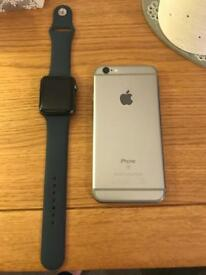 iPhone and Apple Watch both for sale!!