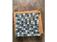 Mosaic fusion tiles