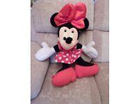 Disney Mini mouse - large soft cuddly toy