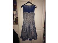 Blue Chi Chi Dress