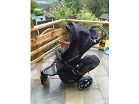 Phil and Teds Navigator V2 single/ double pushchair and lots of accessories