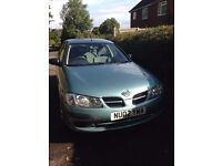 Nissan Almera - low miles for age. Bargain.