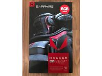 Sapphire AMD Radeon RX Vega 64 8GB HBM2 Graphics Card, BOXED, AND 2 YR WARRANTY